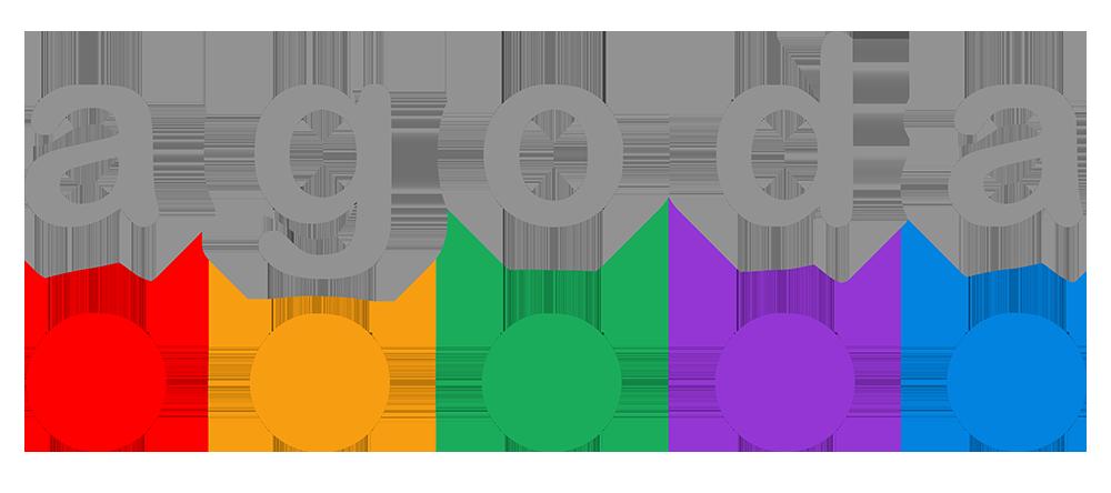 Agoda logo.