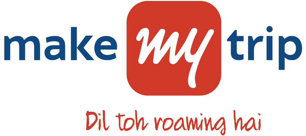 Make My Trip logo.