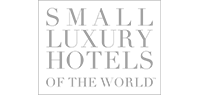 Greyscale Small Luxury Hotels logo.